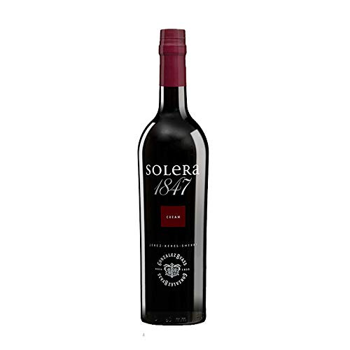 Vino oloroso dulce Solera 1847 de 75 cl - D.O. Jerez de la Frontera - Bodegas Gonzalez Byass (Pack de 1 botella)