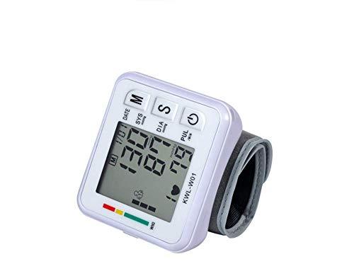 zhangchao Monitor Automatico della Pressione Sanguigna, Polso   Tecnologia Smart Measure   Battito Cardiaco Irregolare E Rilevamento Eccessivo del Movimento del Corpo, Funzione Media della Memoria