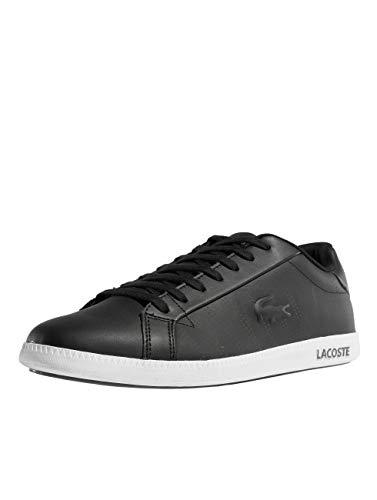 Lacoste Herren Graduate 318 1 SPM Sneaker, Schwarz (Black/Grey 231), 42 EU