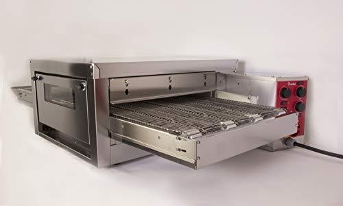 Professioneller Pizzaofen TT9000, elektrisch, 9000 W, dreiphasig, mit Leistungsregler speziell für Pizza bis zu 144 Pizzas/Stunde. Ideal für Frankreichs und/oder Service.