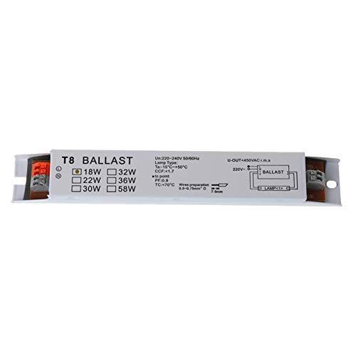 Buwei T8 220-240 V AC 2x18 W Elektronisches Vorschaltgerät mit breiter Spannung Vorschaltgeräte für Leuchtstofflampen