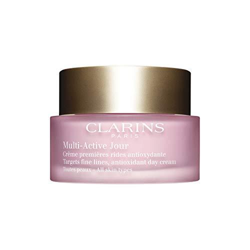 Clarins Multi-Active Crema Giorno con Azione Antiossidante per Tutti i Tipi di Pelli, 50 ml