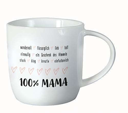 Grafik-Werkstatt - Taza para café, capuchino, té, 100% mamá
