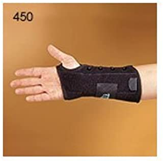 450-LT Orthosis Wrist Titan Felt Left Black Part# 450-LT by Hely & Weber Qty of 1 Unit