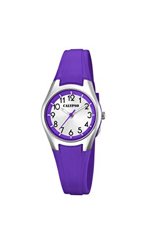 Calypso Watches Reloj Analógico para Mujer de Cuarzo con Correa en Plástico K5750/3