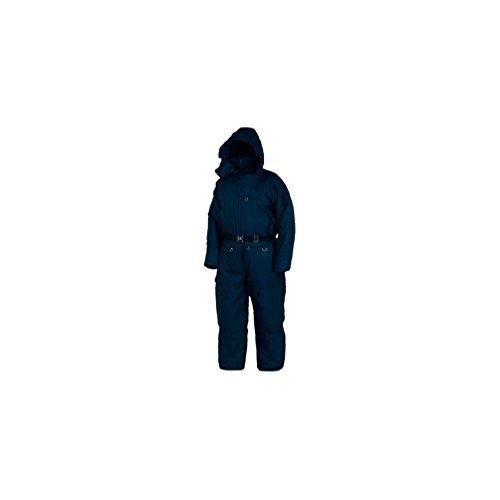 pilotes Combinaison Froid Combinaison de protection thermique Combinaison hiver Combinaison avec capuche neuf, XL, bleu, 1