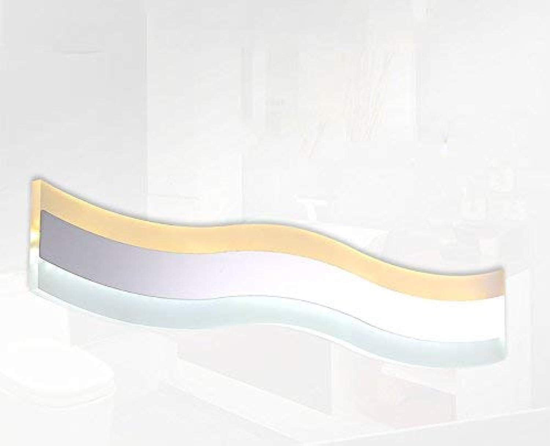 XHCP Edelstahl Acryl Toilette Badezimmer LED Spiegel Frontlampe Anti-Fog Wandleuchte (Gre  41cm (15w))