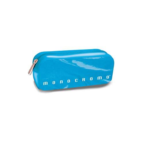 Pigna Monocromo Astuccio formato Bustina Effetto Fluo, Azzurro