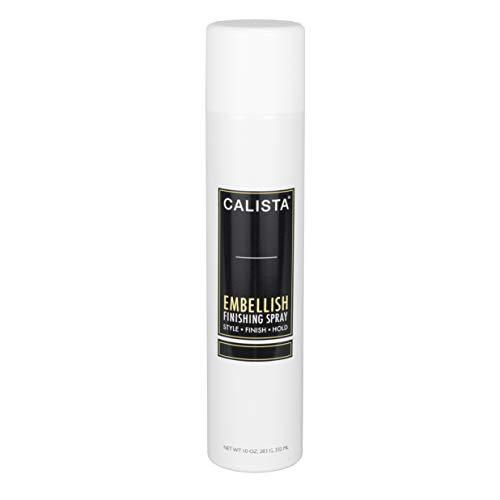 Calista Embellish Volume Finishing Spray, Salon Quality Volumizing Spray for All Hair Types, 10 oz, (Packaging May Vary)