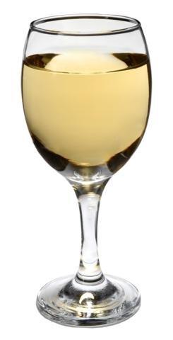 Set de 4puntas Luminarc 'romántico' 10oz transparente bordeux Goblets, copas de vino en un tallo para vino tinto o blanco 226 g Clear, Beige