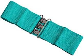 Banned Cintur/ón El/ástico Ancho de estilo Retro Vintage 1950 Rosa p/álido Small