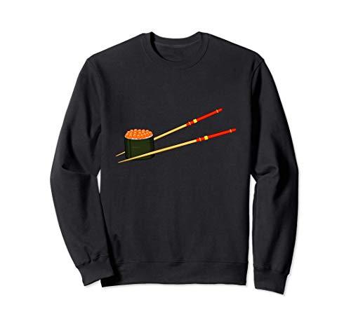 Lachs Reh Kaviar Fischeier Sushi Sweatshirt