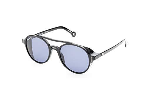 Hally & Son Deus DH500S01 - Gafas unisex, color negro, 52 20 135