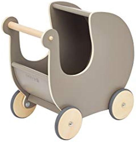 Sebra Puppenwagen mädchen, One Größe, Grau