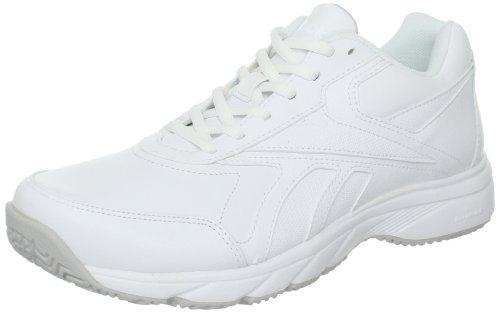 Reebok Women's Work N Cushion Walking Shoe,White,8.5 M US