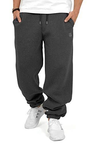 BACKSPIN Sportswear - Jogginghose Basic Farbe Dunkelgrau meliert, Größe L