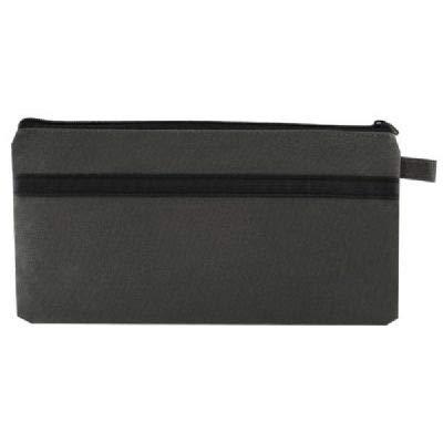 Gray Nylon Utility Bag 5quot x 13quot
