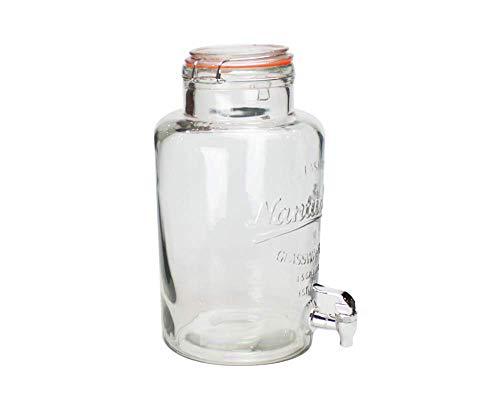 Ard'time - Fontaine à cocktail en verre 6 L
