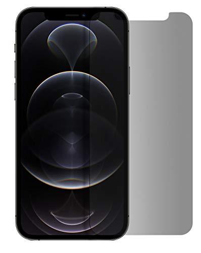 MyGadget Blickschutz Folie für Apple iPhone 12/12 Pro - Anti Spy Panzerglas Display Schutzfolie 9H Glasfolie - Abgerundete Full Screen Privacy Protector
