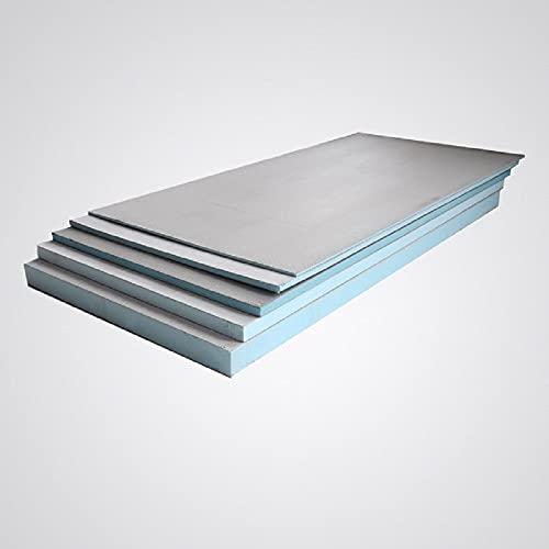 2,16 m² Bauplatte Fliesenplatte 0,6, mm 10 mm 20 mm 30 mm Ausgleichplatte XPS Entkopplungsplatte Dämmplatte Hartschaumplatte Extrem Druckfest (1200x600x30)