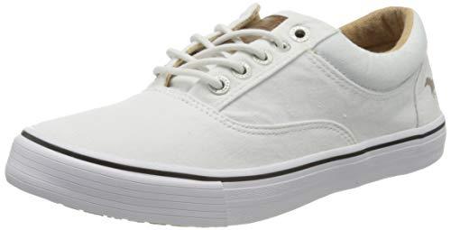 MUSTANG Damen 1225-303-1 Sneaker, Weiß (Weiß 1), 39 EU
