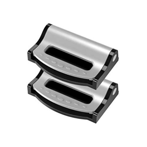Doyeemei 調整可能なロックバックル運転または乗馬 テンション調整安全なカーシートベルトクリップストラッ...