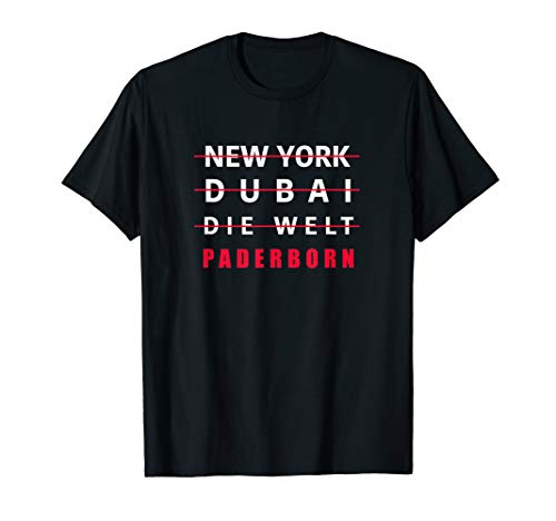 T SHIRT MIT HUMOR | COOLES LUSTIGES PADERBORN GESCHENK T-Shirt