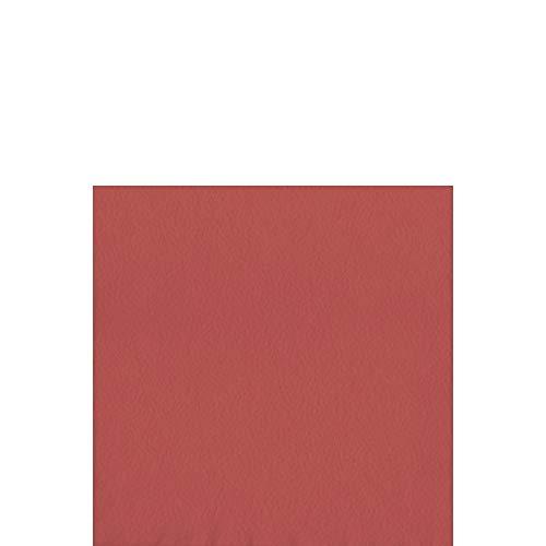 Duni Chiffon de cellules de serviettes 33 x 33 cm 1 plis pliage 1/4 Bordeaux, 500 pièces