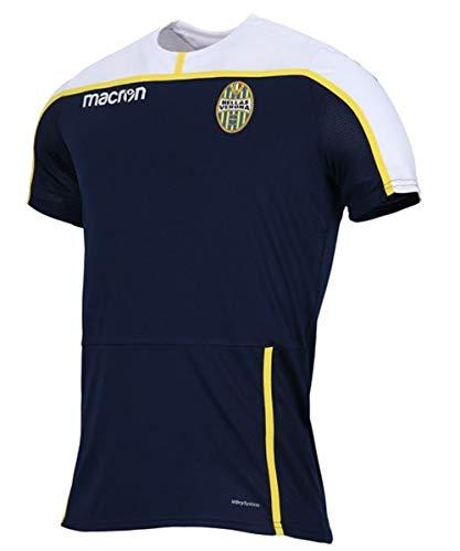 Hellas Verona FC HVR11, Maglia Allenamento Bambino, Navy/Bianco, J/S