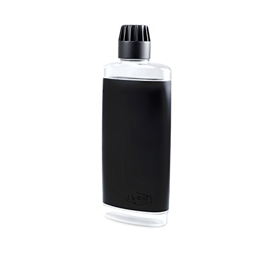 GSI Outdoors 18 fl Oz Flask, Clear, Black (79352)