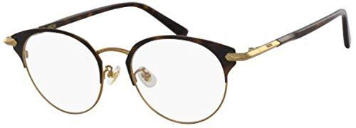 MCM MCM2126A - Gafas de Sol de Metal Shiny Gold/Tortoise Unisex para Adulto, Multicolor, estándar