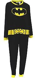 DC Comics Women's Ladies One Piece Pajama Bat Girl Plus