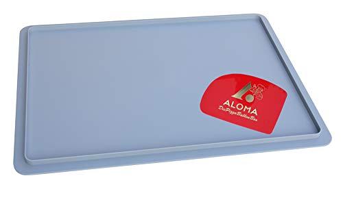 Aloma Pizza BALLEN Box 30 x 40 cm Pizzabehälter Gärbox für Teiglinge (1 X Deckel) und EIN Teigspachtel
