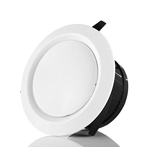 Verstelbare Thuis Fresh Air Outlet Vent, ABS Ronde Air Extractor Outlet Cover, Afzuigkap Outlet Hood Ventilation Grill For Ceiling (Size : 6inch 150mm)