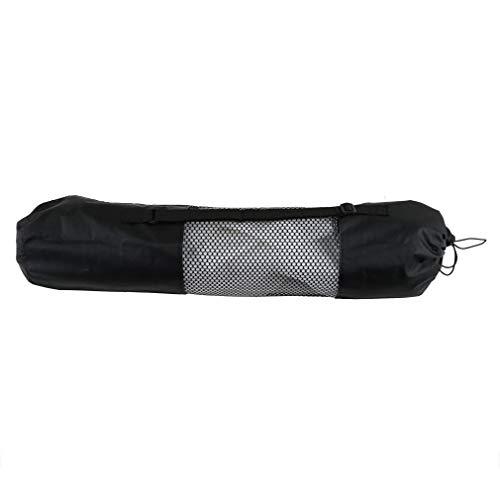 SZBLYY Bolsa de Yoga Pilates portátil Pilates Mat Nylon Bag Carrier Centro de Malla Correa Ajustable Llevar Almacenamiento Almacenamiento Tipo de Rodadura Vaccón Bolsas comprimidas