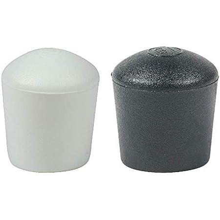 16 Piezas: Muchos Colores y Tamaños - Tapas Pies de Cúpula para Muebles Patas Mesas Sillas por Lifeswonderful (14mm, Blanco)