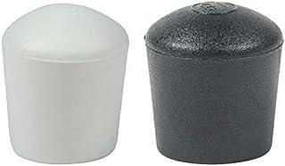 16 Piezas: Muchos Colores y Tamaños - Tapas Pies de Cúpula para Muebles Patas Mesas Sillas por Lifeswonderful (16mm, Negro)