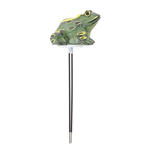 LOVIVER Función de alarma del medidor de humedad del suelo de la rana para el cuidado de la planta del jardín de Bonsai No se necesita batería
