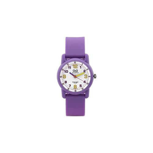 Q&Q Reloj niños niñas señora sumergible con numeros arabes en varios colores fabricado por Citizen