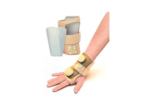 Ten O Golden Hands Gymnastics Turnen Wrist Support Hand (handgelenkstütze) - Sand - S