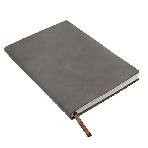 Cuaderno Notebook Lined Notebook A5 Cuaderno Rayas Journal Ejecutivo de Sintonía Suave Forrado con Papel Grueso y Cinta Marcadora