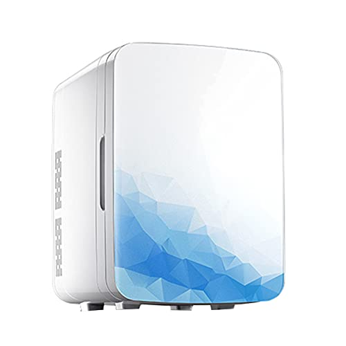 Mini Nevera Mini refrigerador Compacto, Gran Capacidad 20L Frigorífico de Doble energía Caliente y fría, refrigerador de Belleza de Coche (Color : 220V, Size : Style1)