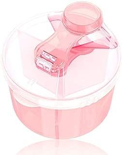 BANGBANG Dispensador de Polvo de f/órmula port/átil con nivelador sin BPA herm/ético para Leche en Polvo Caja