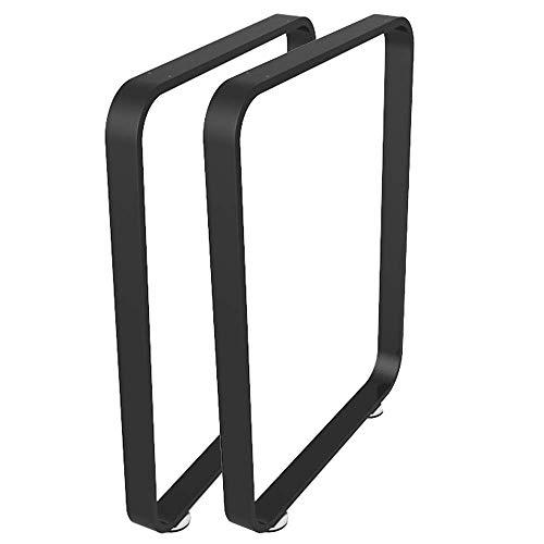 JqwerP Patas de Mesa Patas de Metal para Muebles Patas de Mesa de Comedor cuadradas Pies de Soporte para Muebles de Tubo de Acero Decoración rústica Resistente 720 mm Juego de 2