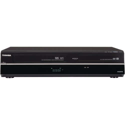 TOSDVR670-TOSHIBA DVR670 UPCONVERTING DVD RECORDER/VCR COMBINATION (WITH BUILT-IN DIGITAL TUNER)