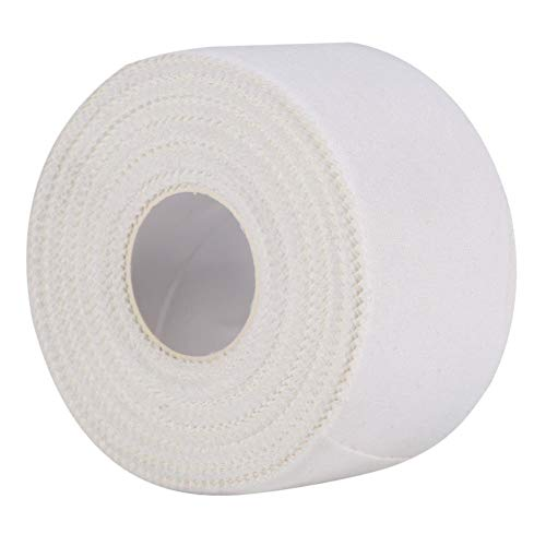 Sportband,Trainerband Sport Tape, 1 Rolle Professional White Athletic Trainer Pflegeband Sport Binding Strapping Joints Support