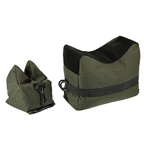 Jorzer Sandbag Supporto Anteriore Del Sacchetto Albero Di Avvistamento Caccia Resto Backup Pastiglie Cuscino Verde Per La Scuola Mira Clip Di Fissaggio Sandbag