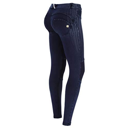 Freddy Damen Wrup Hose, Blau (Dark Jeans/Blue Seams), Medium