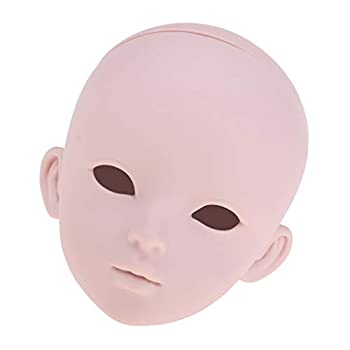 Fityle 1/3 BJD Head Sculpt Doll Body Parts Custom DIY Making - Can Change Eyes Facial Make Up