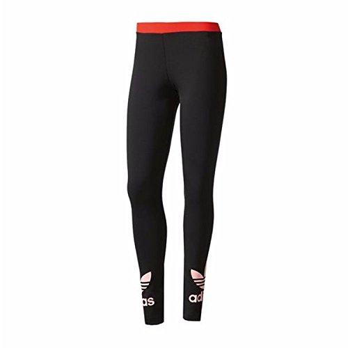 adidas Damen Trefoil Leggings, Schwarz (Negro), 36
